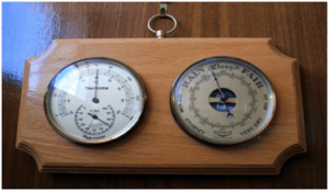 Barometer: For measuring atmospheric pressure.