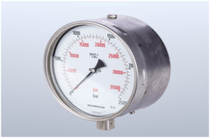 Manometer: For measuring gaseous pressure.