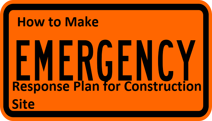 Emergency responce plan