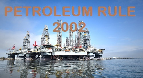 Petroleum rule